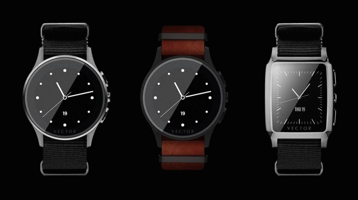 Vector released its two watches