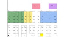 """Floor Plan for the """"Wearable Tech Expo"""""""