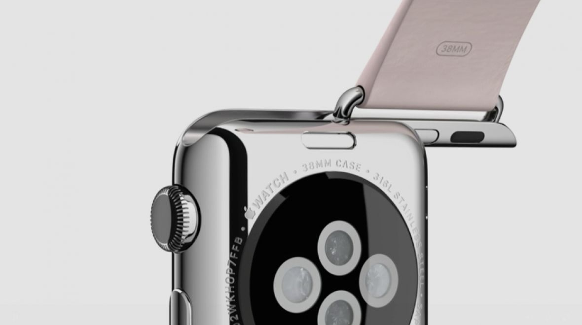 """""""Made for Apple Watch"""" Lugs available now."""