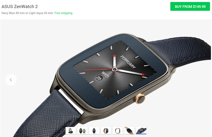 The Asus ZenWatch 2