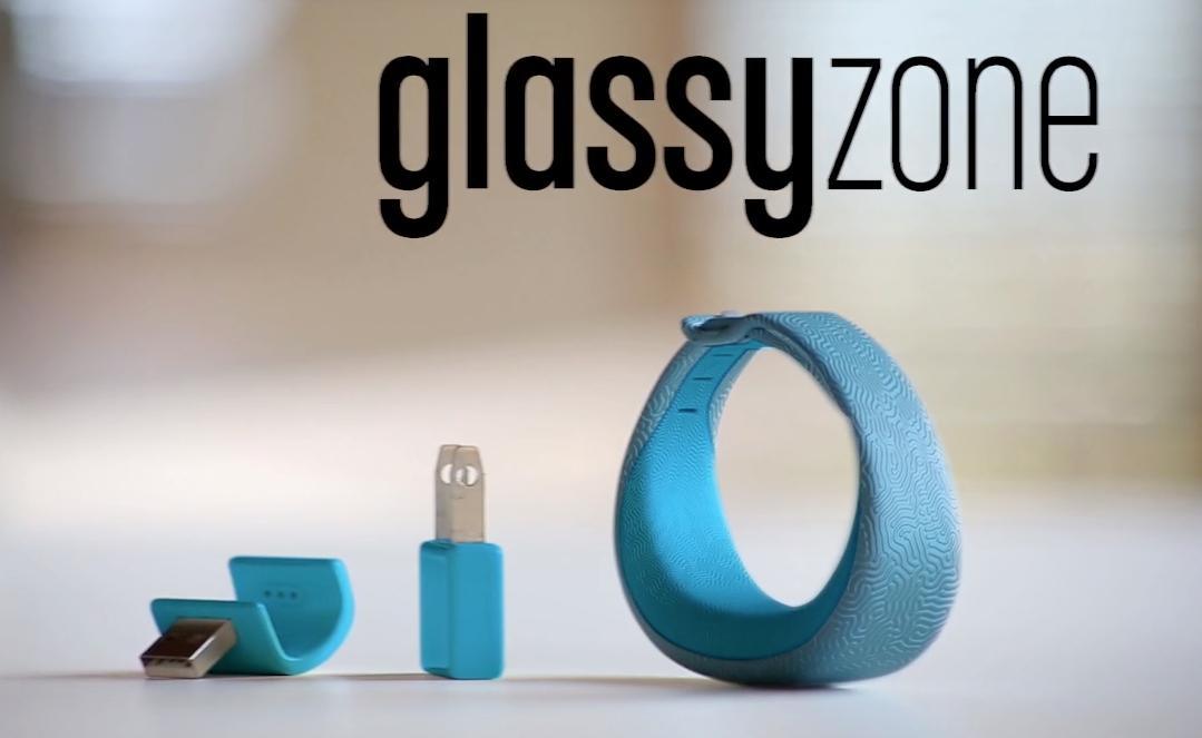 glassy-zone