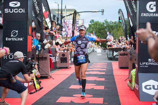Athlete Jen Reinhart- A Blueprint Ironman