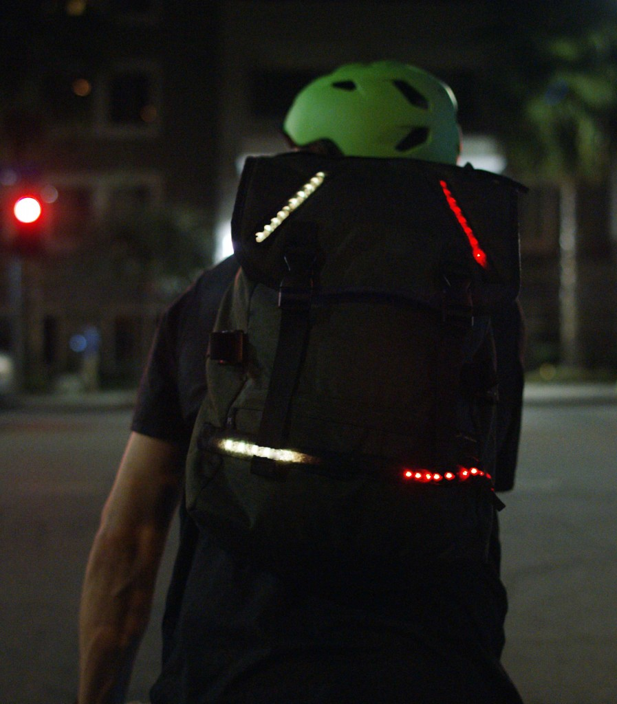 Lumenus Smart technology will keep bikers safe and steady on road