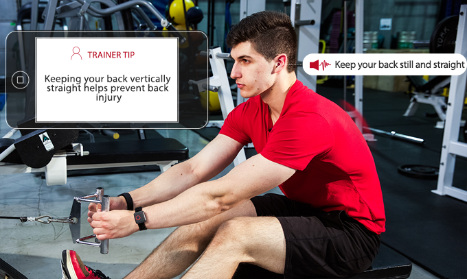 "Ollinfit is a wearable personal trainer for ""weightlifting"""