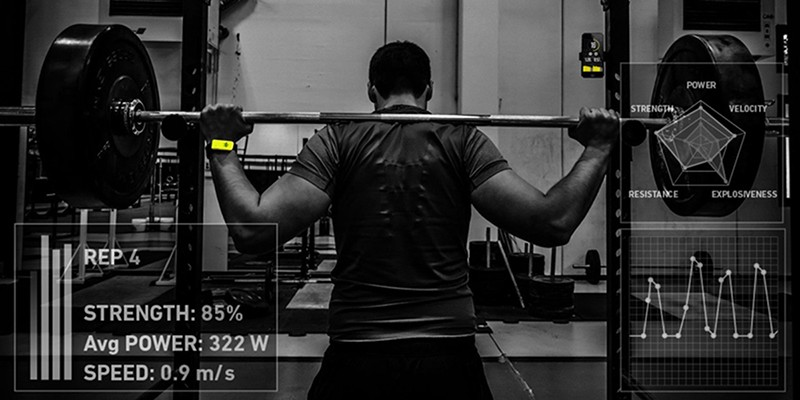 The Beast Sensor is a real-time data provider for weightlifters