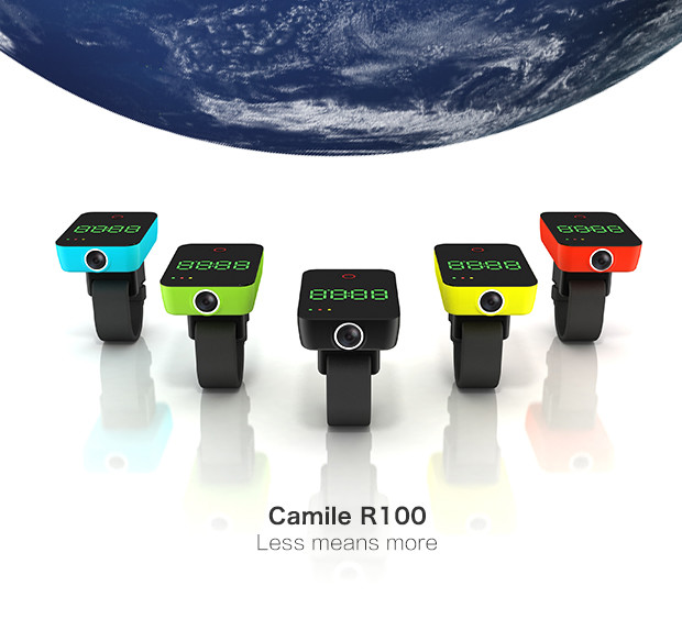 Camile: A Camera With GPS gives life to your Cycling