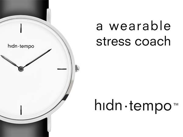 Get Your Own Wearable Stress Coach with hidn tempo