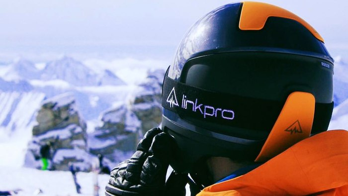 LinkPro's Ski Wearable Helmet Ensures Protection And Better Communication