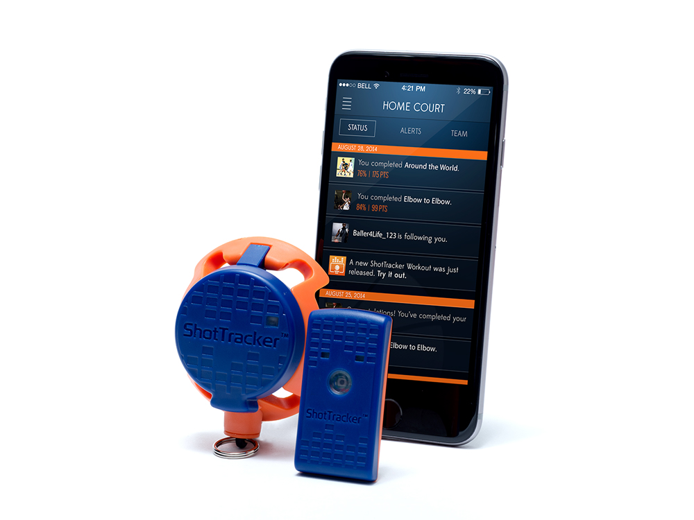 ShotTracker- The Basketball Wearable That Automatically Tracks You Makes And Misses