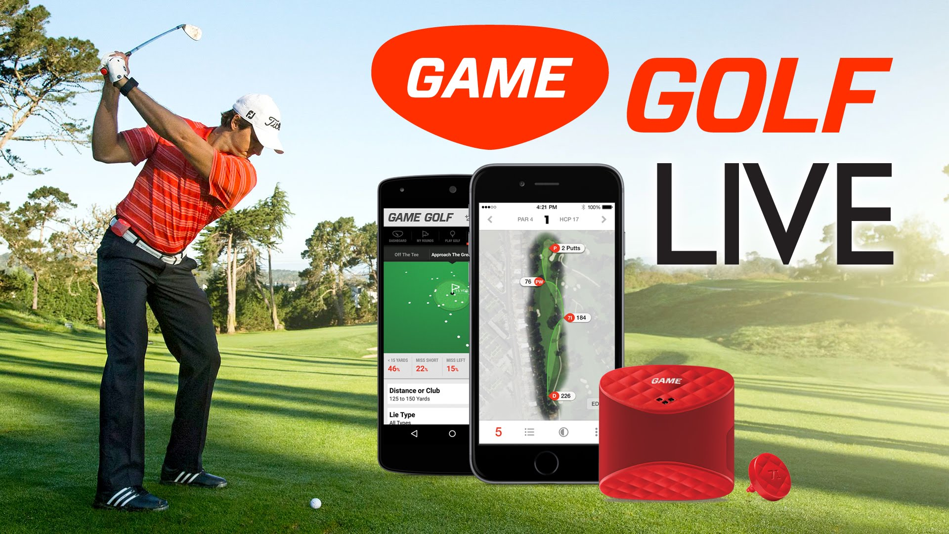 """Game Golf Live Is The Best Wearable """"Game Analyzer"""" For All The Golfers"""