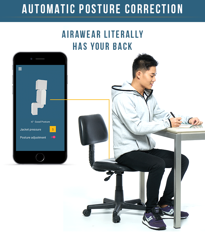 AiraWear - World's First Massage Wearable