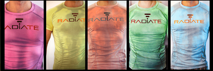 Radiate Shirts Changes Color To Tell Athletes About Their Workouts!