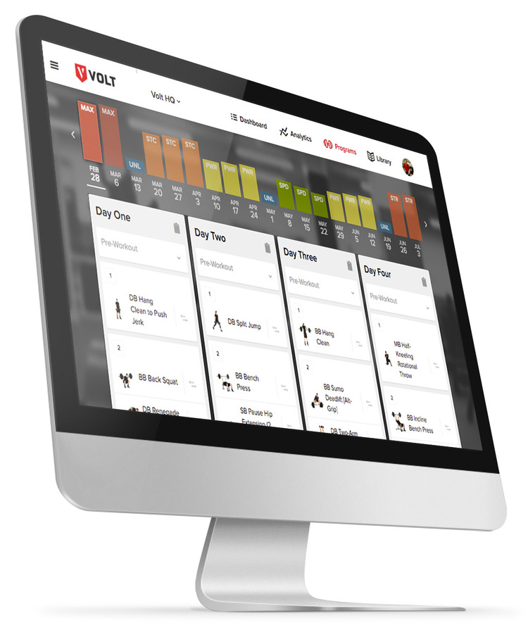 Volt Athletics Launches First Intelligent Training App for Athletes