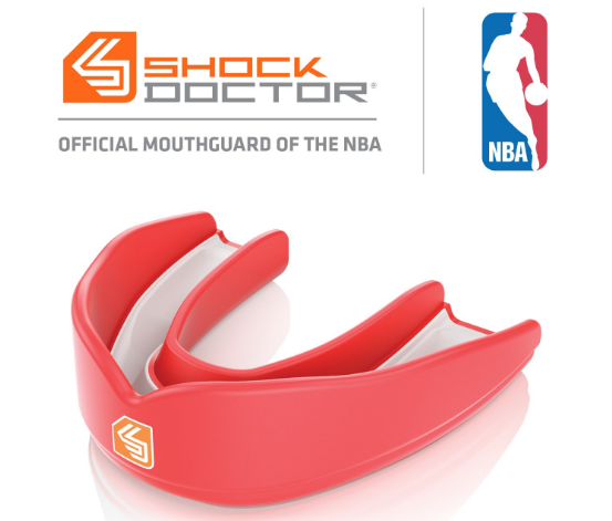 Shock Doctor And NBA Gear Up To Promote The Use Of Mouthguard