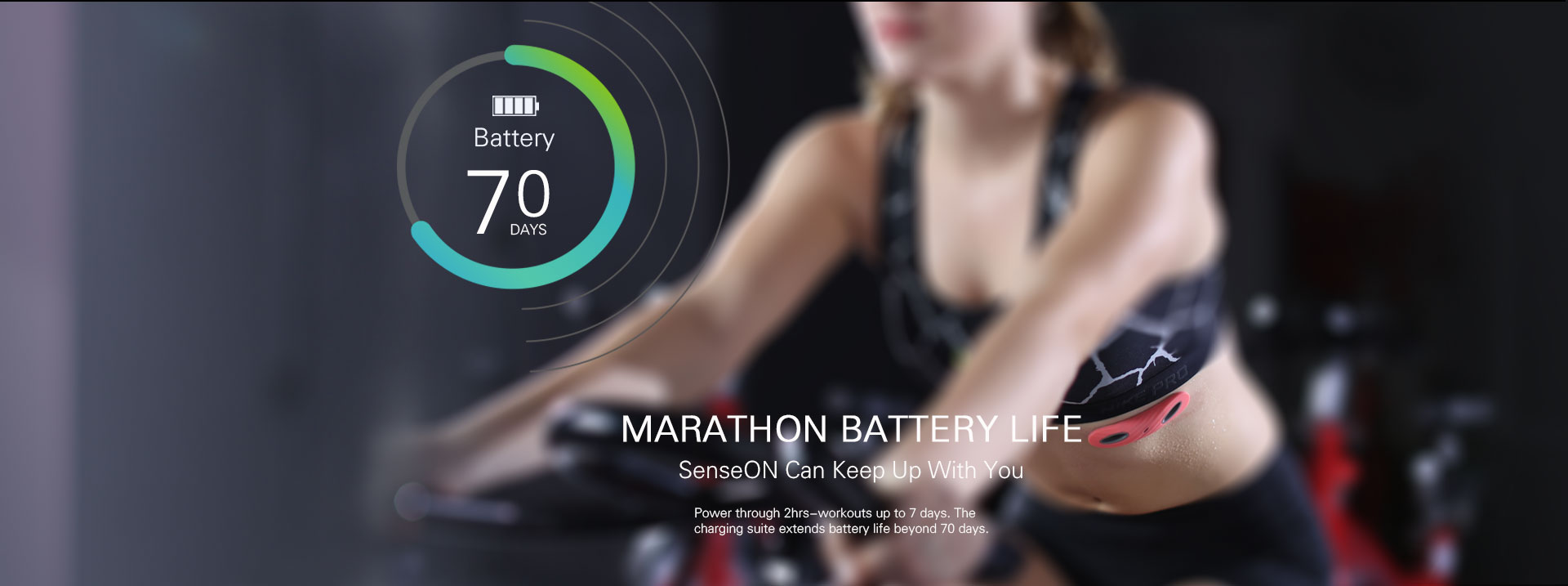 SenseON Is Clinically Accurate Heart Rate Monitor For Workout Enthusiasts