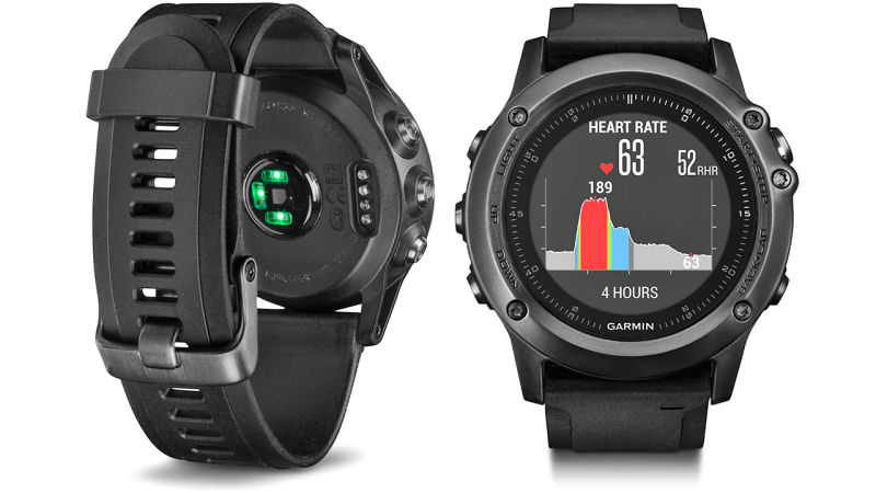 Garmin Fenix 3 Sports Wearable Tracks Heart Rate Along With Your Games!