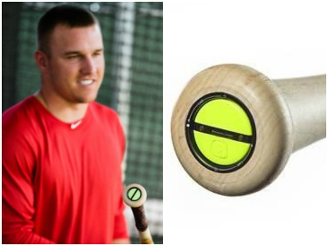 Mike Trout Old Hickory Smart Bat Powered By ZEPP Available For Purchase