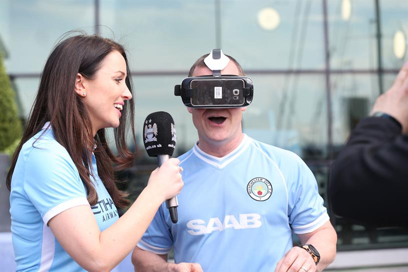 Manchester City, Wearables, VR, Bots And Beyond.....