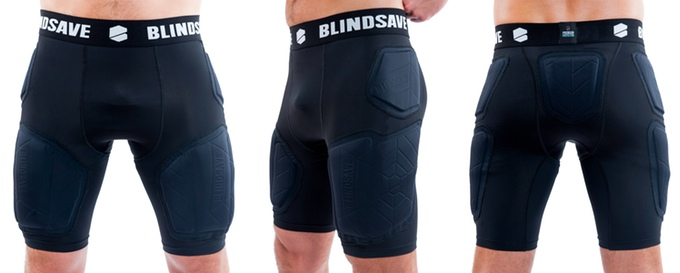 Blindsave- The ultimate protective gear for all Basketball players!