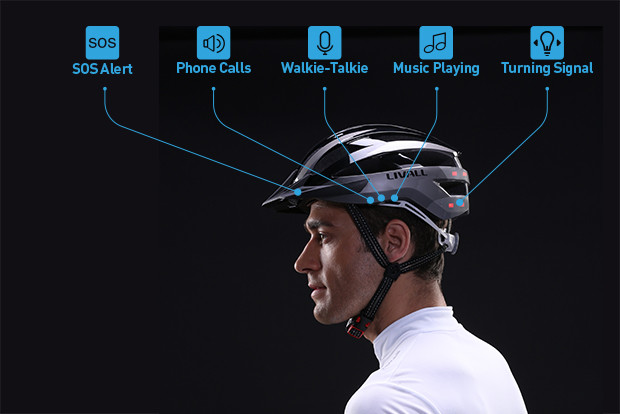 Livall Cycling Helmets- Action, Fun, and Safety Packed All-in-One