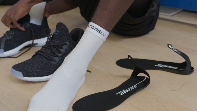 Storelli's Super-grip SpeedGrip Socks Providing Perfect Traction For
