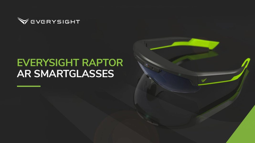 32c1bf2e5aa5 EVERYSIGHT S RAPTOR AR SMARTGLASSES NAMED AS CES 2019 INNOVATION AWARDS  HONOREE