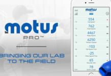 MotusPro body wearable sensor for baseball lovers!