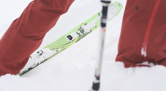 Pomocup is a device for Ski Mountaineers by Ski Mountaineers