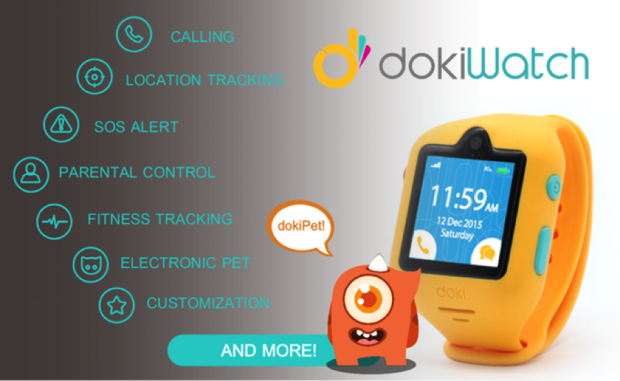 dokiWatch Is The Most Advanced And Fun Smartwatch For Kids
