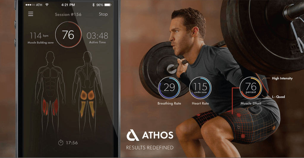 Meet Athos! Smart training apparel that monitors your body's biosignals
