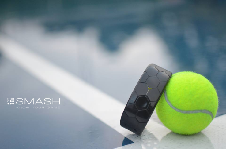 Smash Tennis Wearable Tracks The Techniques And Improves The Forms Of The Players