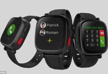 Omate Wherecom S3 Smartwatch Keeps A Check On Seniors'!