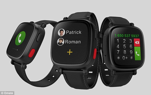 Omate Wherecom S3 Smartwatch Keeps A Check On Seniors'!