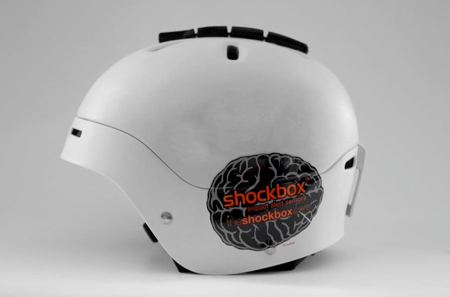 ShockBox Wearable Sensor For Athletes Alerts The Coaches For Concussions