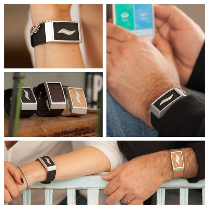 WellBe - The World's First Wearable Stress Therapy Bracelet