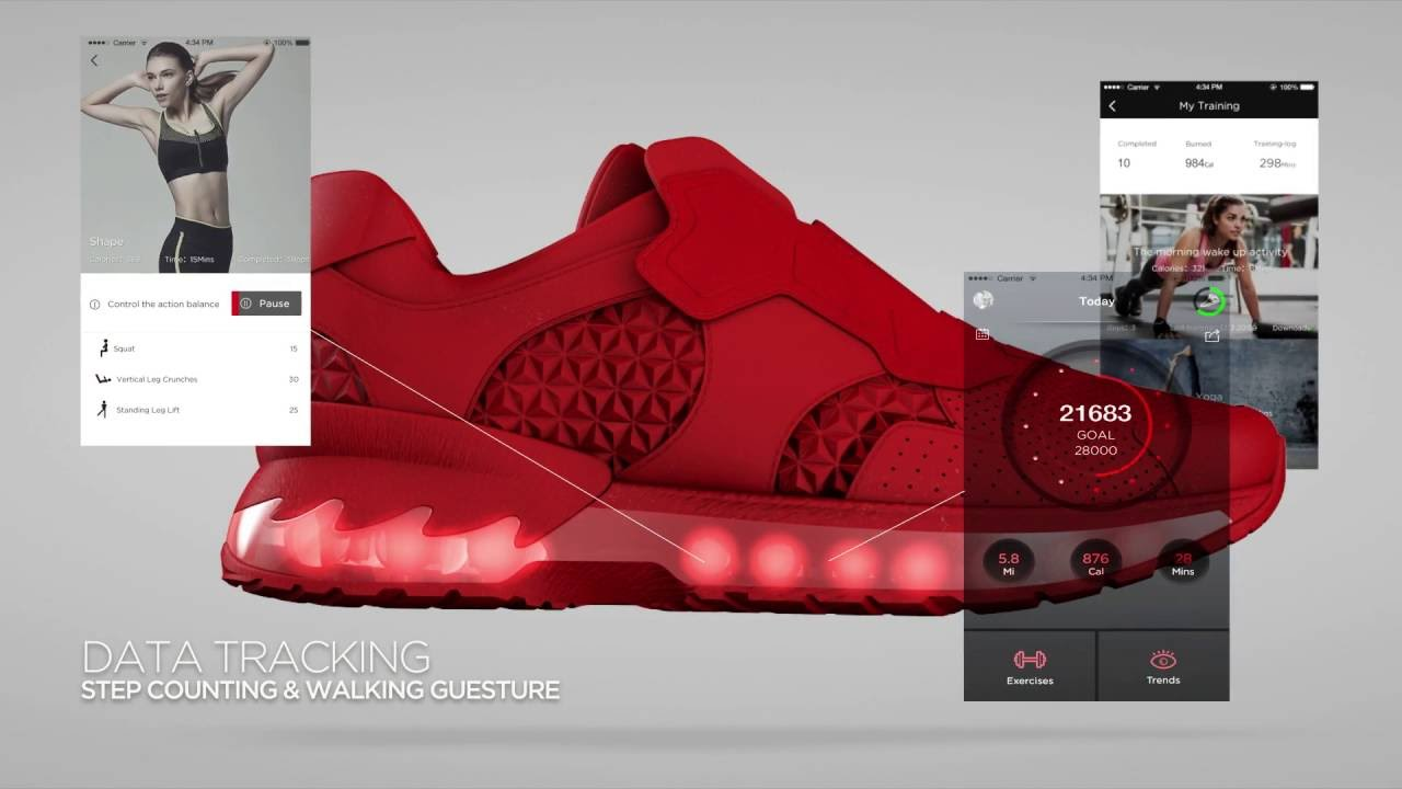 Lenovo's Running Shoes Will Be Athlete's Paradise