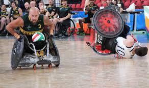 paralympics player